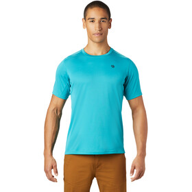 Mountain Hardwear Wicked Tech Camiseta Manga Corta Hombre, vivid teal